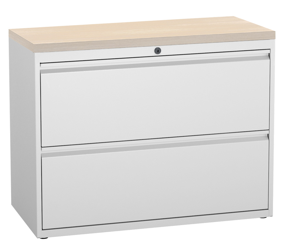 2 drawer laminate top